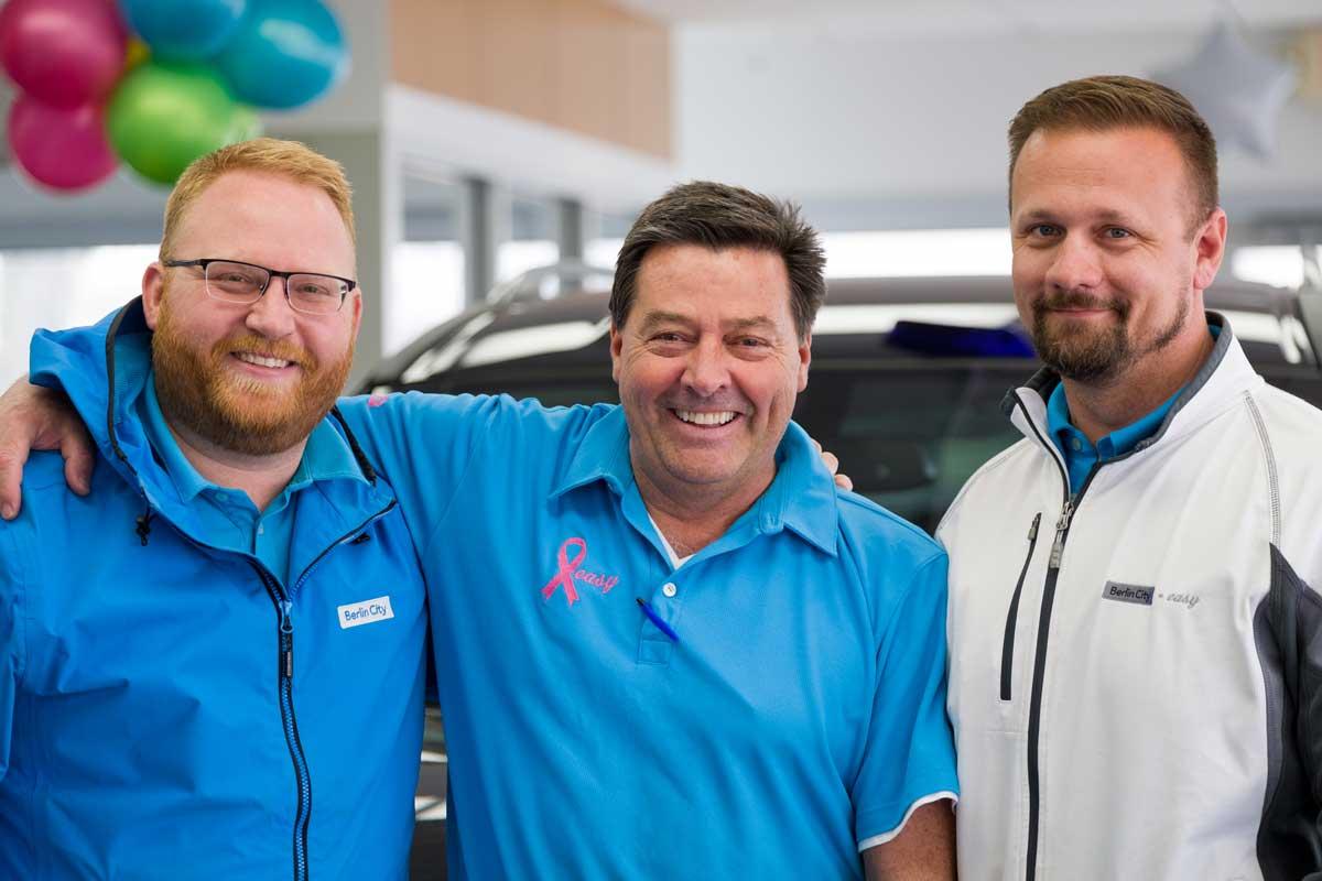 Three Sales Associates